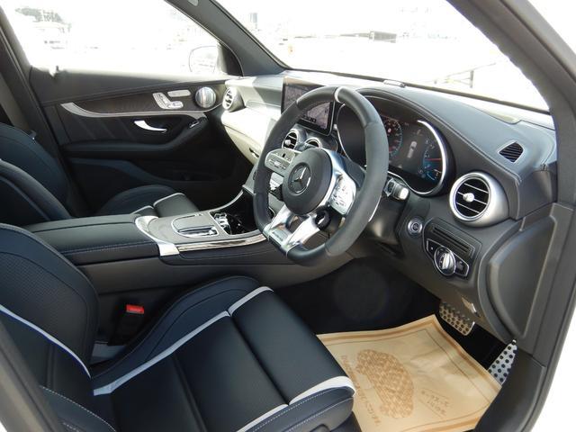 GLC63 S 4マチック+ AMGパフォーマンスパッケージ&コンフォートパッケージ AMGフロアマットプレミアム ドライブレコーダー 1オーナー 禁煙車(6枚目)