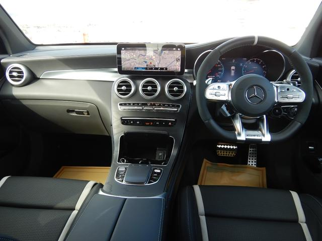 GLC63 S 4マチック+ AMGパフォーマンスパッケージ&コンフォートパッケージ AMGフロアマットプレミアム ドライブレコーダー 1オーナー 禁煙車(7枚目)