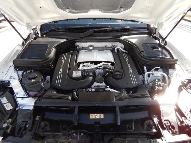 GLC63 S 4マチック+ AMGパフォーマンスパッケージ&コンフォートパッケージ AMGフロアマットプレミアム ドライブレコーダー 1オーナー 禁煙車(26枚目)