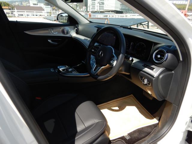 E220d アバンギャルド エクスクルーシブパッケージ ヘッドアップディスプレイ 黒革シート 純正フロアマット 1オーナー 禁煙車(6枚目)