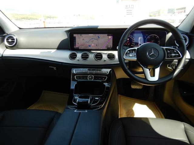 E220d アバンギャルド エクスクルーシブパッケージ ヘッドアップディスプレイ 黒革シート 純正フロアマット 1オーナー 禁煙車(7枚目)