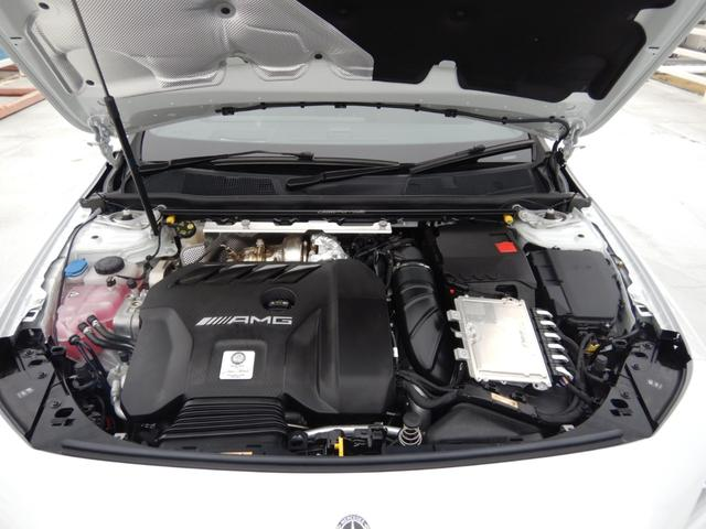 CLA45 S 4マチック+ AMGパフォーマンス&アドバンストパッケージ パノラミックスライディングルーフ ヘッドアップディスプレイ 1オーナー 禁煙車(25枚目)