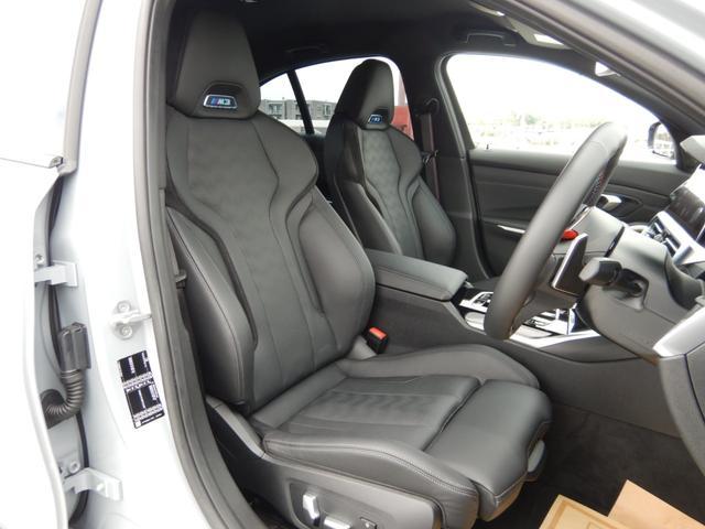M3セダン コンペティション シートベンチレーション パーキングアシストプラス ヘッドアップディスプレイ 1オーナー 禁煙車(8枚目)