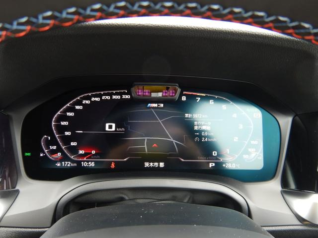 M3セダン コンペティション シートベンチレーション パーキングアシストプラス ヘッドアップディスプレイ 1オーナー 禁煙車(9枚目)