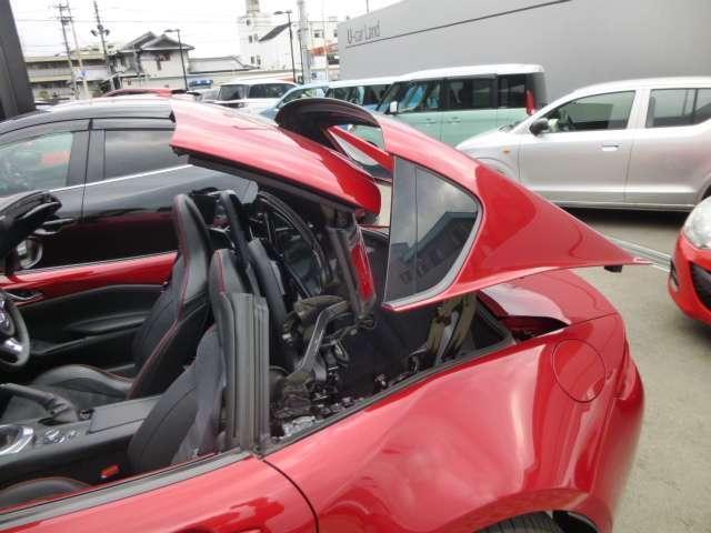 マツダ ロードスターRF RS 6速マニュアル 当社デモアップカー