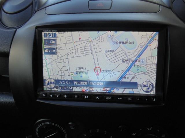 マツダ デミオ 13C HDDナビ ワンセグTV ETC キーレス