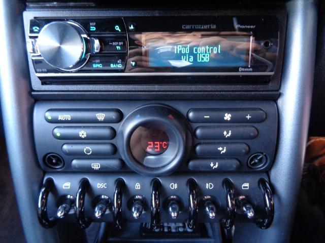 クーパーS コンバーチブル スーパーチャージャー 電動オープン HID&FOG Bカメラ ETC ドラレコ パドルシフト キーレス Rソナー AUX&USB 17インチアルミ 禁煙車(25枚目)
