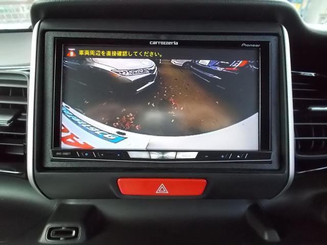 ホンダ N BOXカスタム G・ターボLパッケ 社外Mナビ フルセグ 両側PSD HID