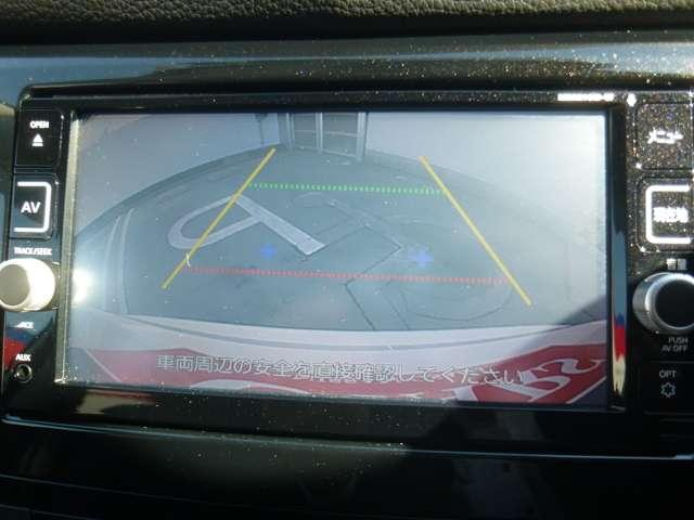 ニガテな駐車も安心のバックカメラ付き!