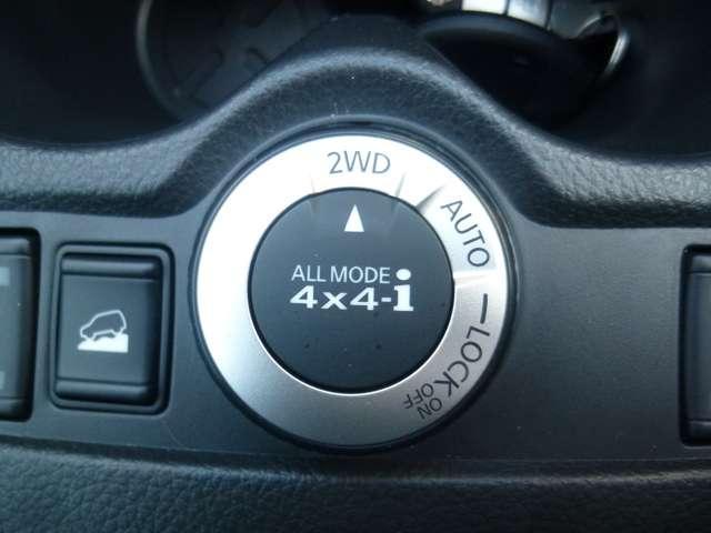 2WDと4WDを任意に切替できます。燃費も悪路も問題なし!!