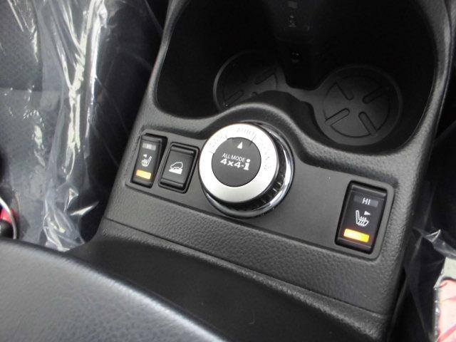 前席シートヒーター装備。人が温かく感じる部位を効果的に温めてくれます。