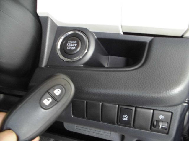 スイッチ操作で「キー開け閉め・エンジンのオンオフ」ができる『インテリジェントキー』