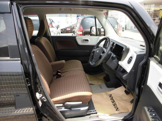 「シート高調整」&「チルトステアリング」で小柄な方も運転しやすいポジションに調整できます。