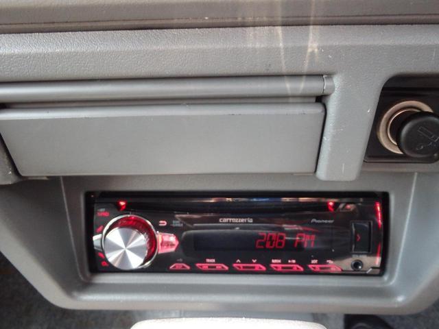 新品カロッツエリアCDデッキ装着!iPod対応!
