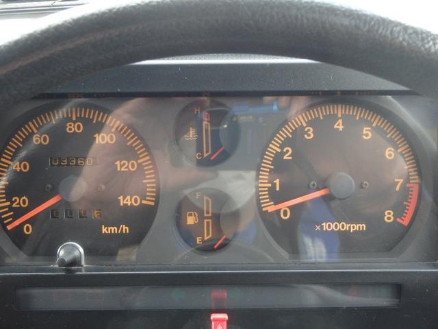 機能性に優れたシンプルなメーター廻り。必要な情報を的確にキャッチ出来ます