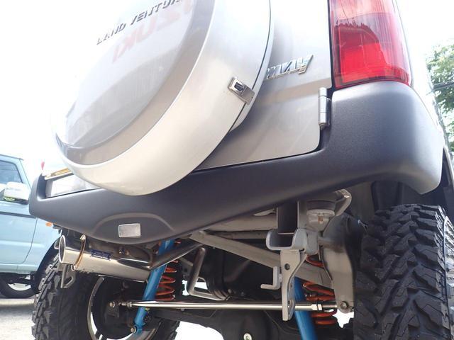 ランドベンチャー JIMKENTAC新品コンプリート・バンパーラプター塗装・6.50R16タイヤ4本新品(17枚目)