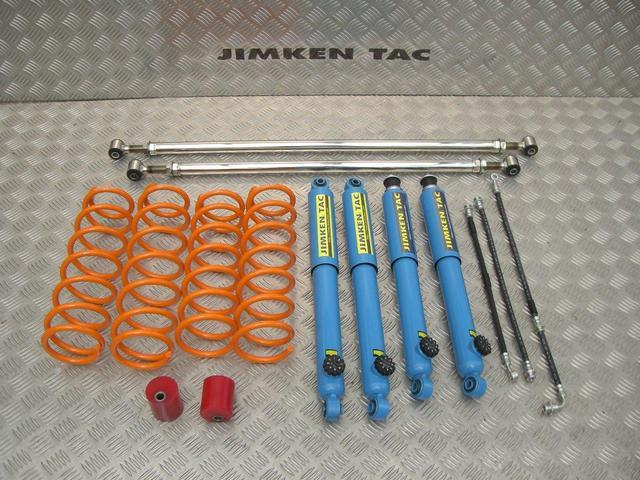 ランドベンチャー JIMKENTAC新品コンプリート・バンパーラプター塗装・6.50R16タイヤ4本新品(19枚目)