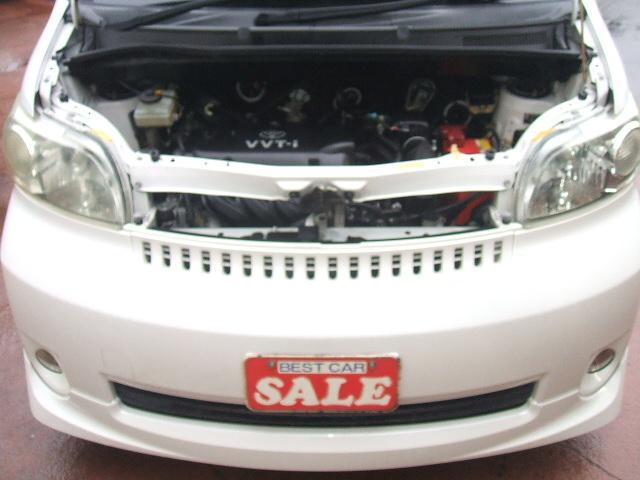 トヨタ ポルテ 150r エアロ 社外アルミ Aスライドドア DVDナビ