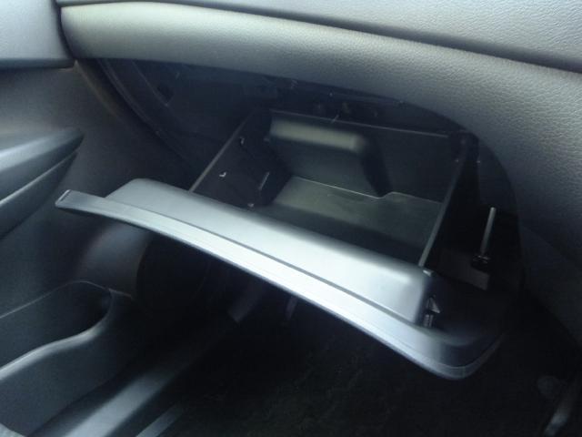 大容量の収納BOX!車内はいつも整理整頓!