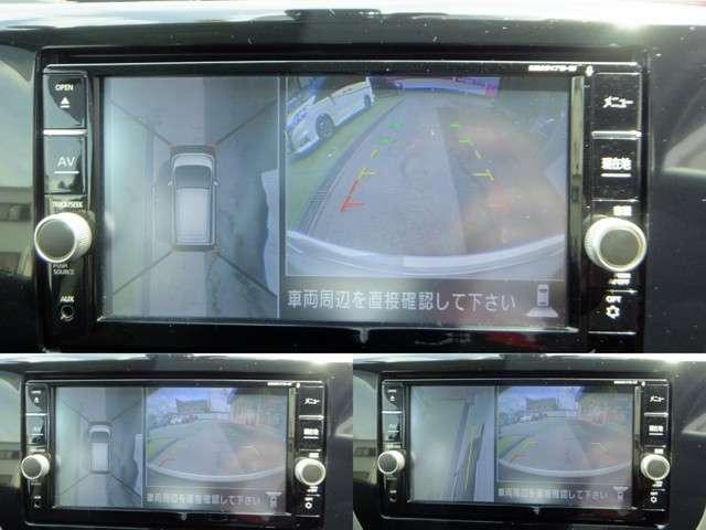 アラウンドビューモニターで車周囲の死角を減らします♪