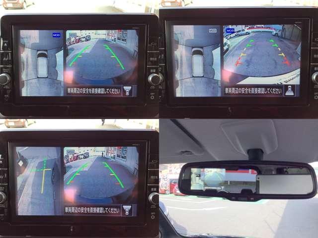 ターボ プロパイロット エディション 衝突被害軽減ブレーキ ETC プロパイロット メモリーナビ アラウンドビューモニター 被害軽減ブレーキ 両側電動スライドドア(6枚目)