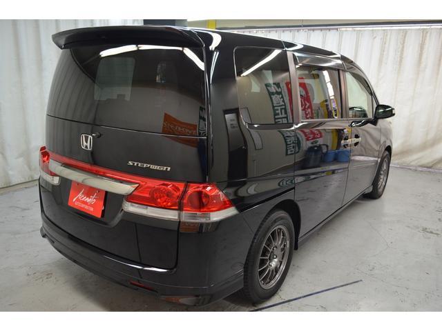 ホンダ ステップワゴン G エアロエディション HDDナビ ワンセグ 2年保証