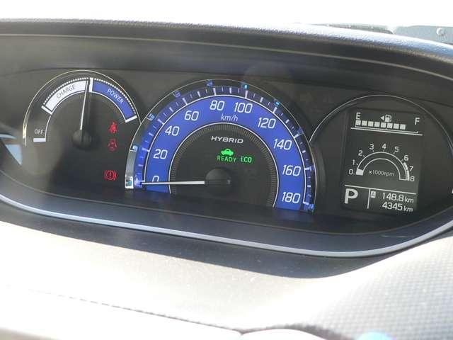 視線移動が少なく、疲れにくいセンターメーターをはじめ、運転に必要な機能をインパネ中心部にまとめた使いやすさを考えられた運転席まわりです。