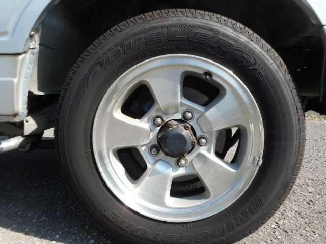 ワイルドウインド ターボ 4WD 3AT エアコン 修復歴なし 車検整備付き(9枚目)