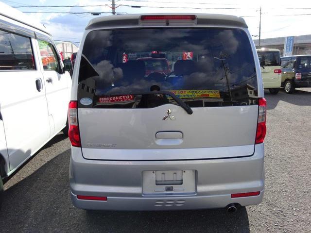三菱 eKスポーツ リミテッドエディション CD・HIDライト・アルミ