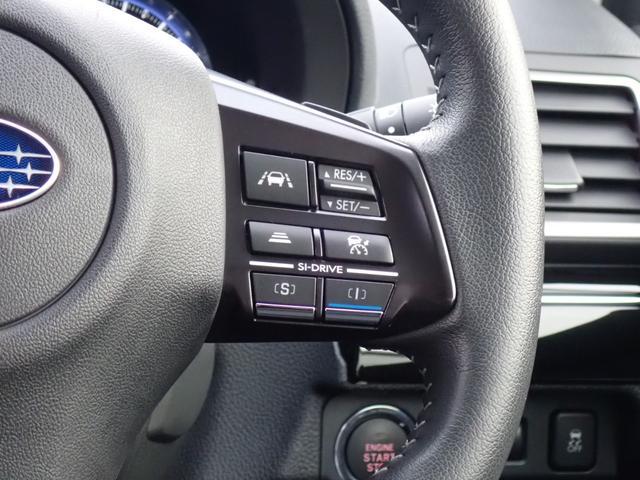 1.6GTアイサイト 衝突被害軽減ブレーキ 前後誤発進抑制機能 車線逸脱防止(警報/支援) バックカメラ SDナビ コーナーセンサー クルーズコントロール ステアリングリモコン パドルシフト LEDヘッドライト ETC(20枚目)