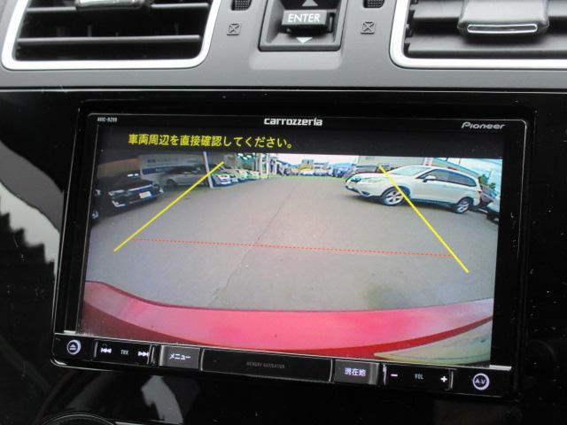 バックカメラを通して、ナビモニターに、障害物が映し出されます。障害物を、確認できますので、ぶつけることが少なくなります。