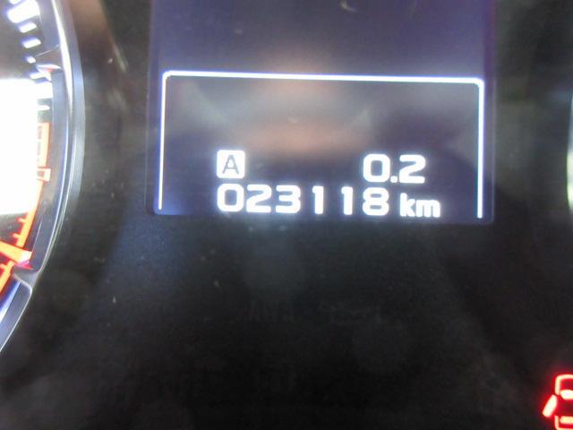 走行距離 23118km