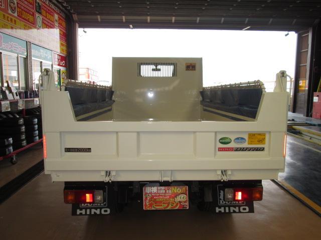 日野 デュトロ 4WDハイグレードPCS寒冷地全低床強化2tコボレンリヤダム