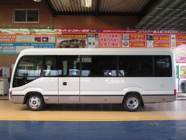 日野 リエッセII 新型ロングGXターボ29人寒冷地仕様トリリクシート自動扉5速