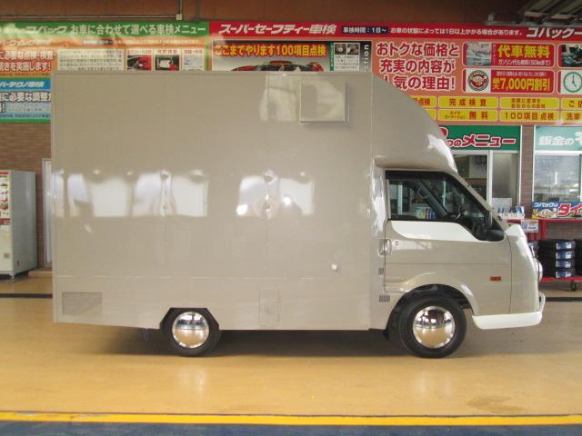 移動販売車仕様4WDアーリールック8ナンバー 全国保健所対応(4枚目)