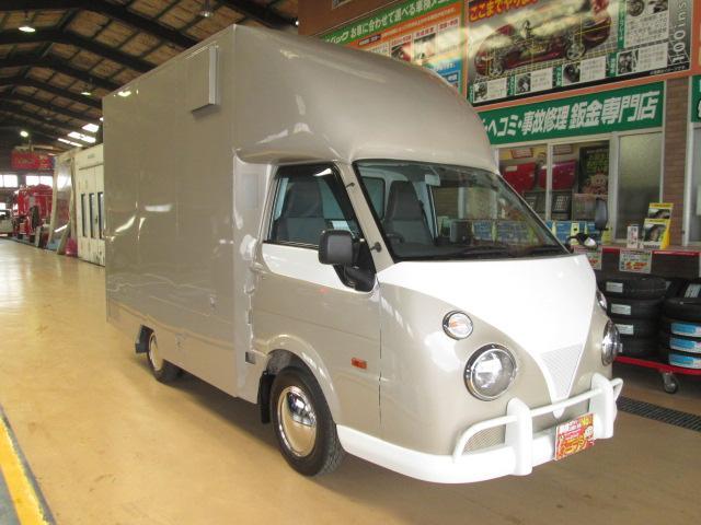 移動販売車仕様4WDアーリールック8ナンバー 全国保健所対応(7枚目)