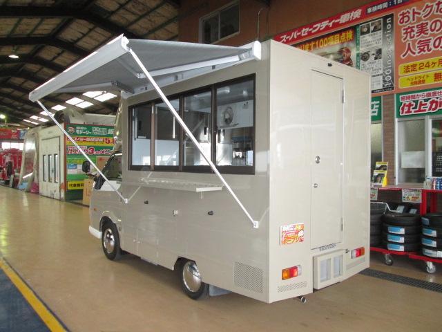 移動販売車仕様4WDアーリールック8ナンバー 全国保健所対応(12枚目)