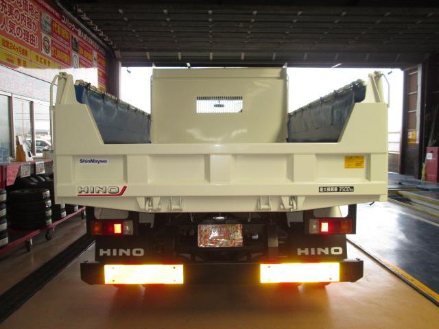 日野 ヒノレンジャー 新型210馬力強化3.5t電動コボレンダムピンプロテクラダー