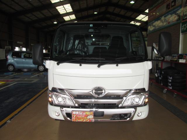 新型ハイグレードPCS全低床平ボディトラック3トン150馬力(2枚目)