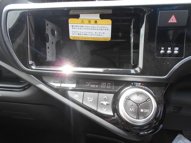 トヨタ アクア Sスタイルブラック ナビレディ インテリキー オーディオレス