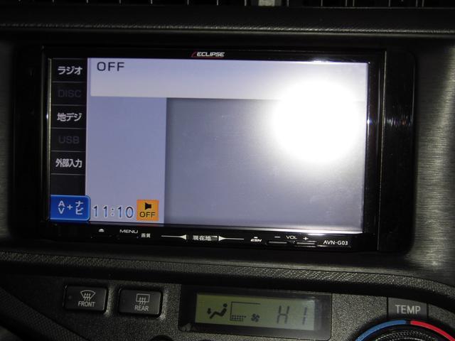 トヨタ アクア Gブラックソフトレザーセレクション HIDヘッドライト