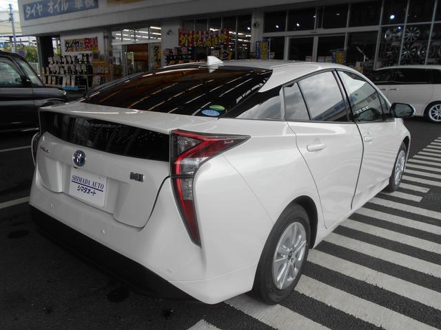 トヨタ プリウス Sセーフティプラス 衝突軽減ブレーキ LEDヘッドライト