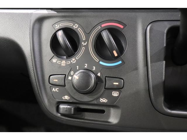エアコンももちろん装備!わかりやすく使いやすいマニュアルエアコンです!