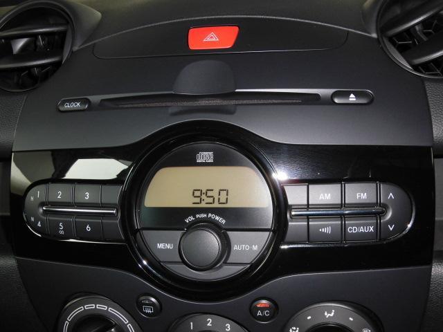 マツダ デミオ 13C-V 純正CDオーディオ キーレス