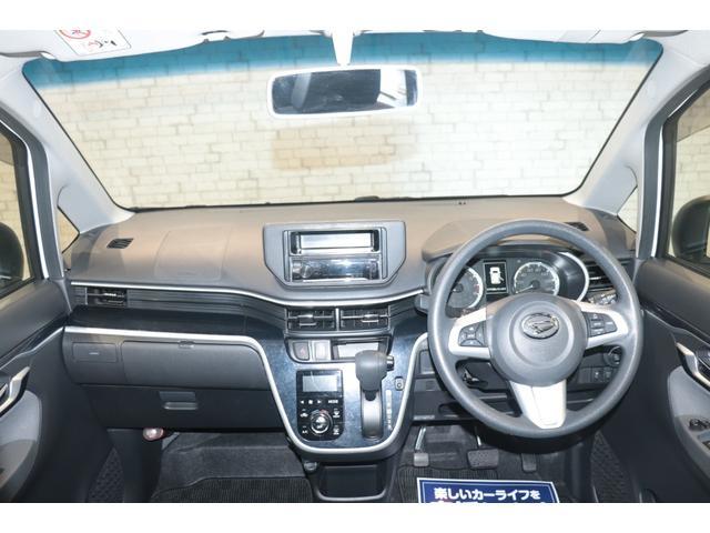 カスタム X ハイパー CDオーディオ アイドリングストップ スマートキー ステアリングリモコン オートライト 14インチAW 電動格納ミラー 盗難防止システム LEDヘッドライト フォグランプ ハーフレザーシート(7枚目)