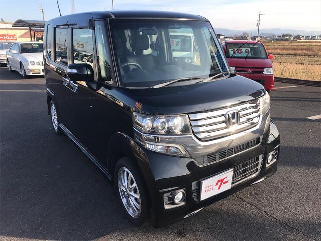 「ホンダ」「N-BOX+カスタム」「コンパクトカー」「奈良県」の中古車3
