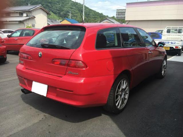 「アルファロメオ」「アルファ156スポーツワゴン」「ステーションワゴン」「奈良県」の中古車5