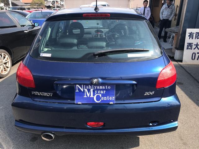 「プジョー」「プジョー 206」「コンパクトカー」「奈良県」の中古車5