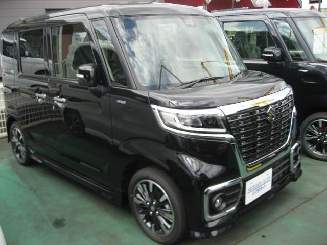 「スズキ」「スペーシアカスタム」「コンパクトカー」「奈良県」の中古車13