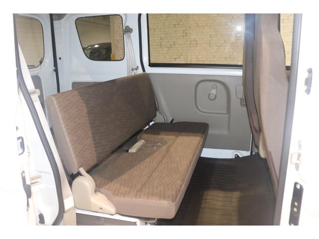 DX ラジオ 両側スライドドア キーレスエントリー マニュアルエアコン パワーステアリング 運転席エアバック 助手席エアバック ABS(11枚目)